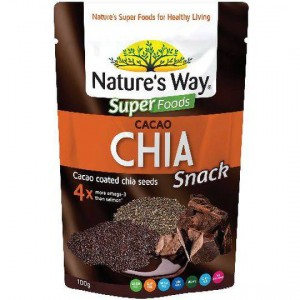 Nature's Way Cacao Coated Chia