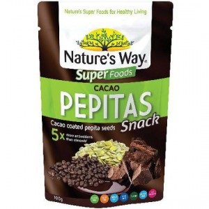 Nature's Way Cacao Coated Pepitas
