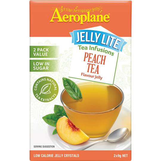 Aeroplane Jelly Lite Infused Peach Tea