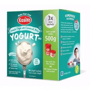 Easiyo Greek Style With Coconut Bits Yoghurt Base