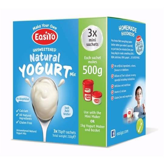 Easiyo Unsweetened Natural Yoghurt Base