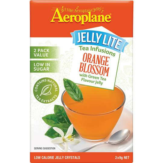 Aeroplane Jelly Lite Infused Orange Green Tea