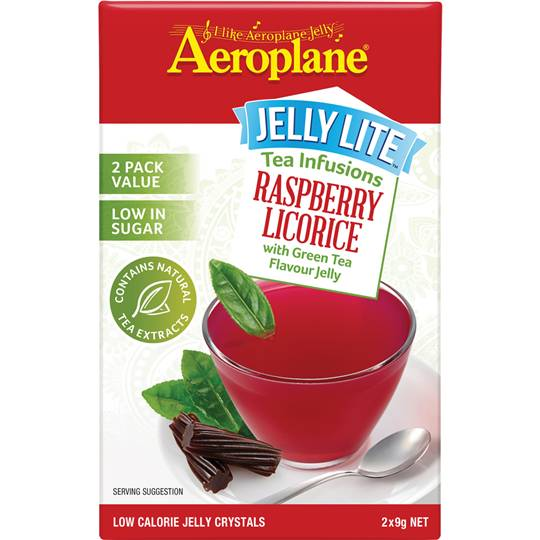 Aeroplane Jelly Lite Infused Raspbry Green Tea