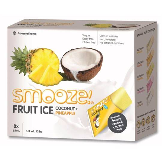 Jade reviewed Smooze Pineapple & Coconut