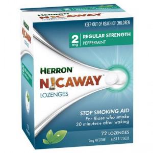 Herron Nicaway Nicotine Lozenges 2mg