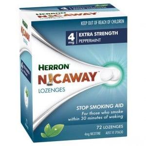 Herron Nicaway Nicotine Lozenges 4mg