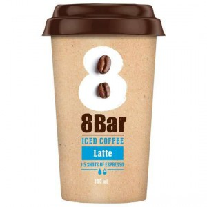 8 Bar Iced Coffee Latte