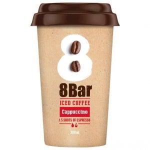 8 Bar Iced Coffee Cappuccino