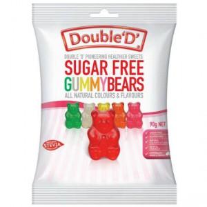 Double D Gummy Bears Sugar Free