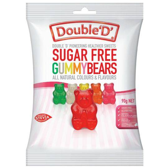 Double D Gummy Bears Sugar Free
