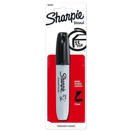 Sharpie Black Chisel