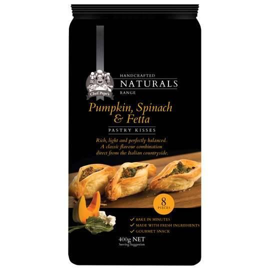 Pepes Natural Pumpkin Feta & Spinach Pastry