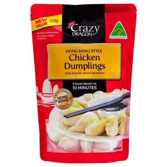 Crazy Dragon Hong Kong Chicken Dumplings