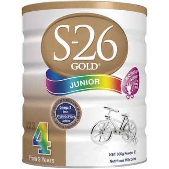 S26 Gold Junior Formula Stage 4 From 2 Years