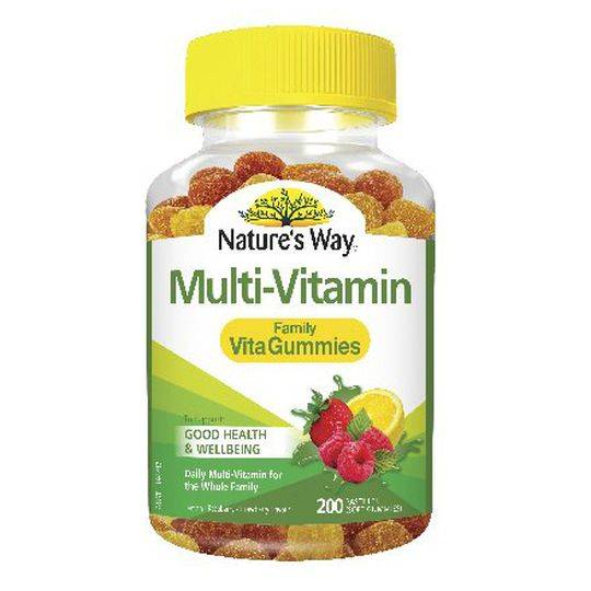 Nature's Way Vita Gummies Family Value Pack