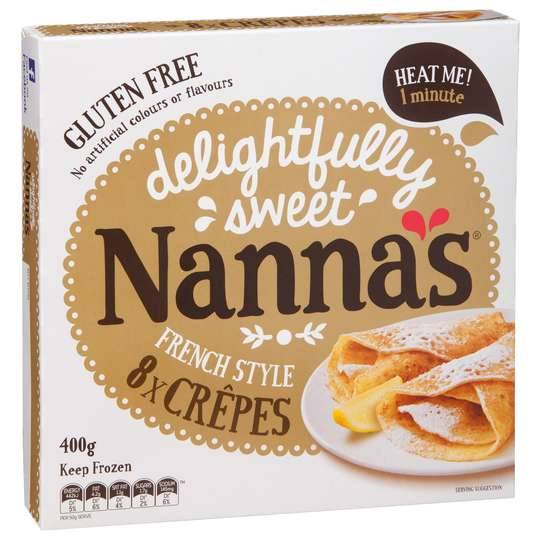 Nannas Frozen Crepes