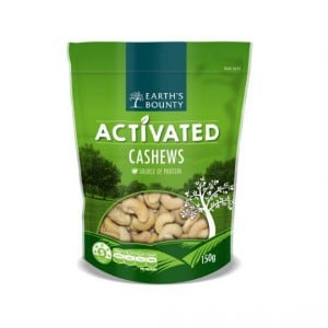 Earth's Bounty Activated Cashews