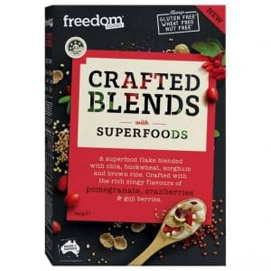 Freedom Foods Crafted Blends Cereal Berries