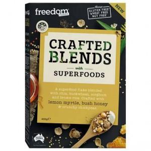 Freedom Foods Crafted Blends Cereal Lemon Myrtle