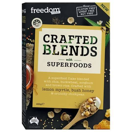 Freedom Foods Crafted Blends Cereal Lemon Myrtle