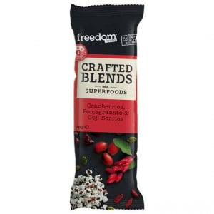 Freedom Foods Crafted Blends Berries Bar