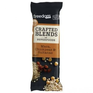 Freedom Foods Crafted Blends Maca Bar