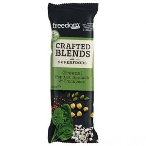 Freedom Foods Crafted Blends Greens Bar
