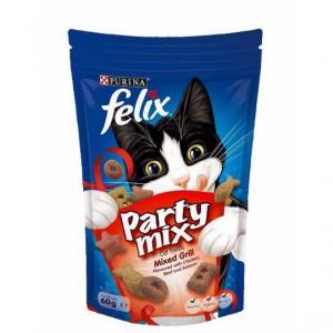 Felix Cat Party Mix Mixed Grill