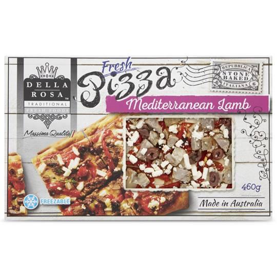 Della Rosa Lamb Mediterranean Pizza
