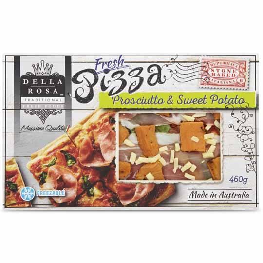 Della Rosa Potato & Prosciutto Pizza