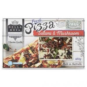 Della Rosa Salami Capricciossa Pizza