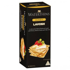 Waterthins Honey Lavosh