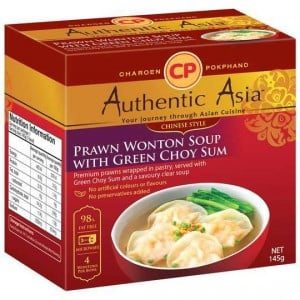 Authentic Asia Prawn Wonton With Vegetable Soup