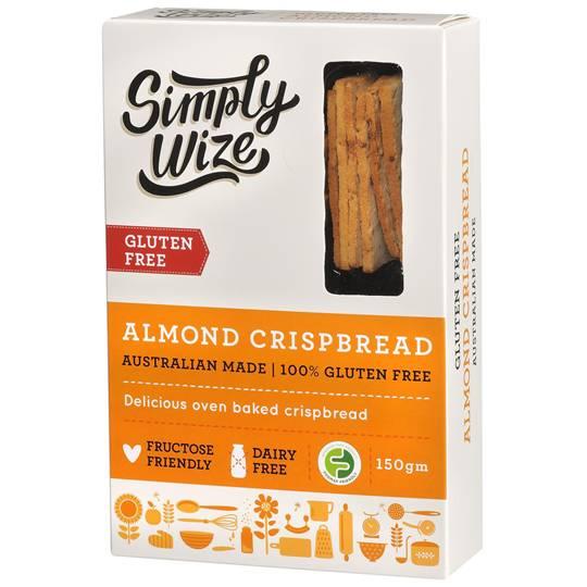 Simply Wize Almond Crispbread