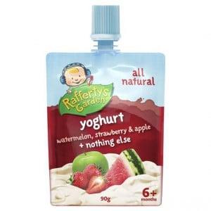 Rafferty's Garden Watermelon Strawberry Apple Yoghurt Squeezie