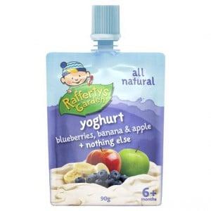 Rafferty's Garden Blueberries Banana Apple Yoghurt
