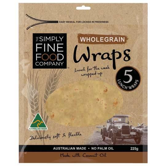 Simply Fine Foods Wholegrain Wraps