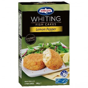 Birds Eye Whiting Fish Cake Lemon Pepper
