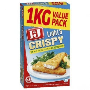 I&j Light & Crispy Lemon Fish Fillets