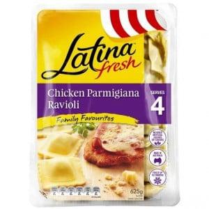 Latina Chicken Parmigiana Ravioli