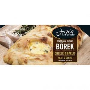 Jase's Kitchen Cheese & Garlic Borek