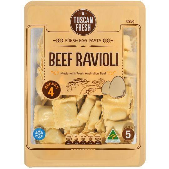 Tuscan Fresh Beef Ravioli