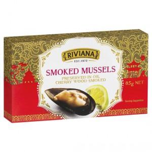 Riviana Smoked Mussells