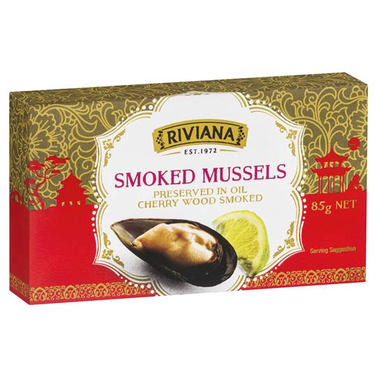 Michellev93 reviewed Riviana Smoked Mussells