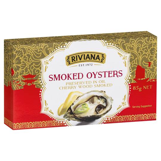Riviana Smoked Oysters