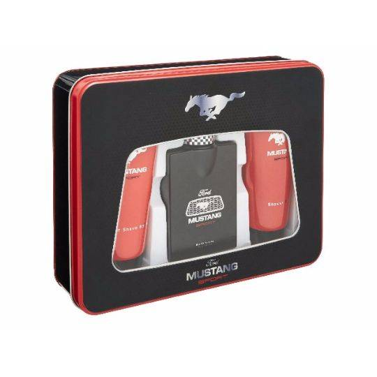 Mustang Sport 3pc Tin Set