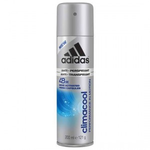 Adidas Deodorant Climacool Spray Anti Perspirant