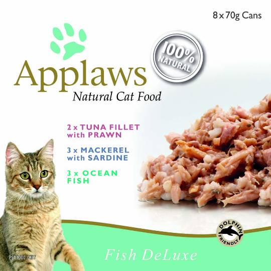 Applaws Cat Food Fish Deluxe