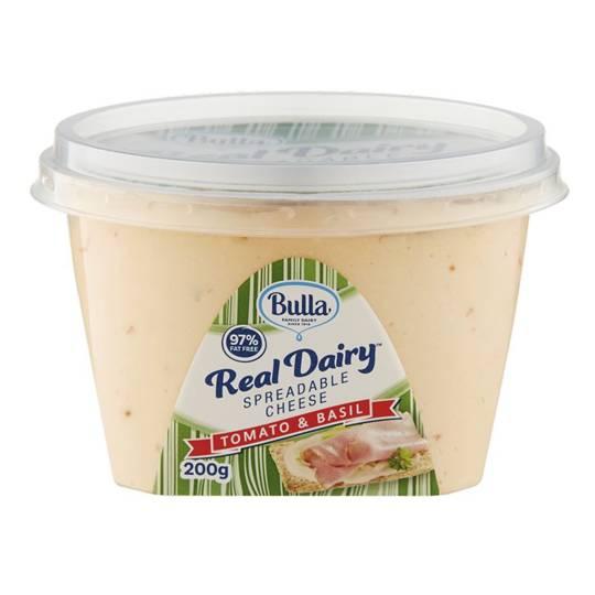 Bulla Spreadable Cheese Tomato & Basil