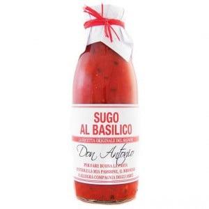 Don Antonio Pasta Sauce Sugo Al Basilico